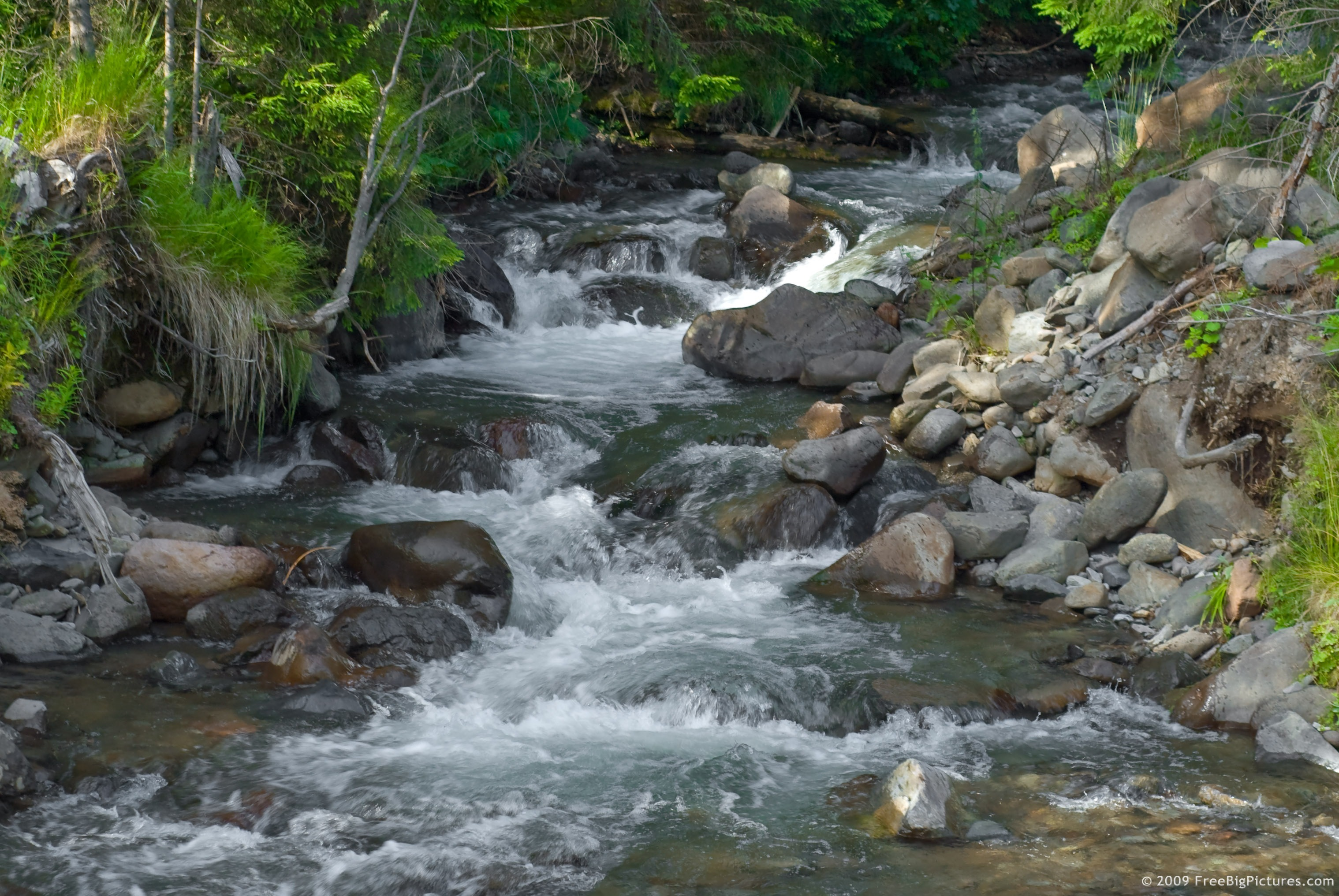 stream in the mountains - photo #36