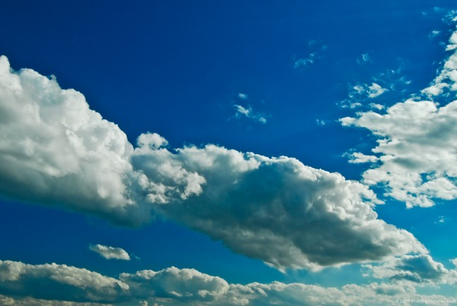 Free Big Clouds Pictures - Sky is a beautiful image