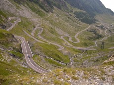 The Transfagarasan Road