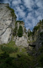 Image of the Bears Trough – Jgheabul Ursilor - a beautiful place in the Ceahlau Massif