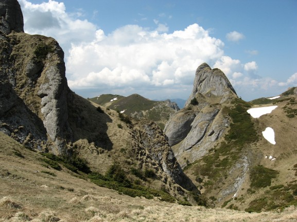 Strange rocks in the legendary Massif Ciucas - Romania