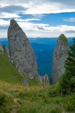 Image of Claile lui Miron - an interesting rock in Ceahlau Massif – Romania